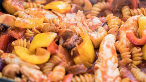 Ready, Steady Kurt | Chicken and Chorizo Pasta