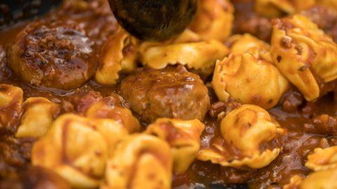 Ready, Steady Kurt | Pasta Meat Balls
